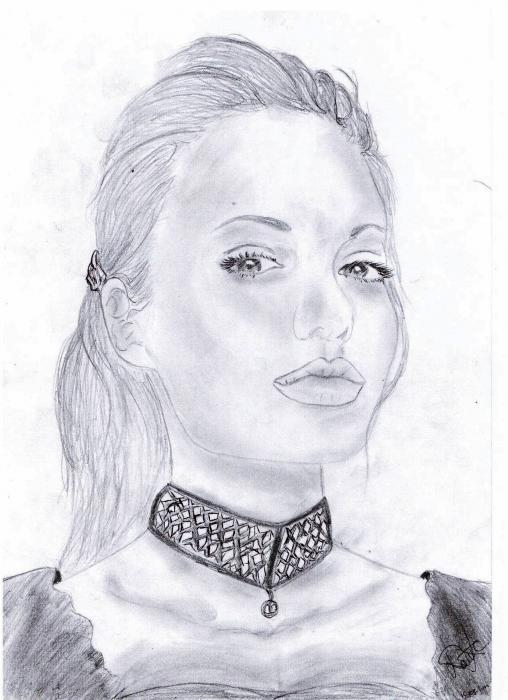 Angelina Jolie por Rasain